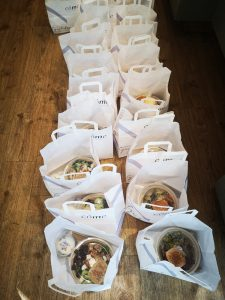 Distribution de repas Come